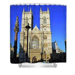 Westminster Abbey London England Shower Curtain