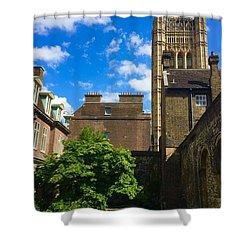 Westminster Abby Garden Shower Curtain