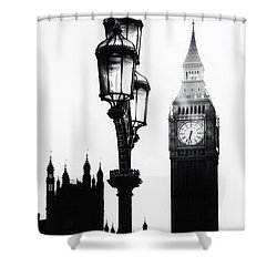 Westminster - London Shower Curtain by Joana Kruse
