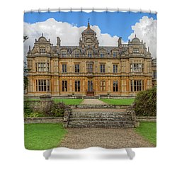 Shower Curtain featuring the photograph Westonbirt School For Girls by Clare Bambers
