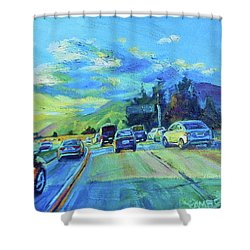 Westward Shower Curtain