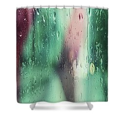 Wet Aqua Shower Curtain