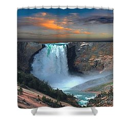 Wet Beauty Shower Curtain by Rod Jellison