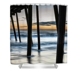 Wet Feet Shower Curtain