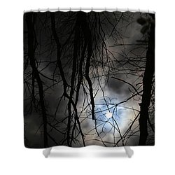 Wetland Reflections 43 Shower Curtain