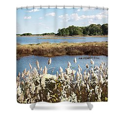 Wetlands 3 - Shower Curtain