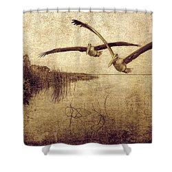 Wetlands Shower Curtain
