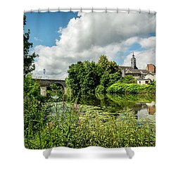 Shower Curtain featuring the photograph Wetzlar Germany by David Morefield