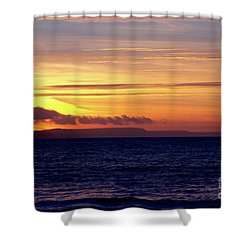 Weymouth To Purbeck Shower Curtain