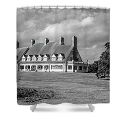 Shower Curtain featuring the photograph Whalehead Club by David Sutton