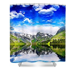 What A Beautiful Day Shower Curtain
