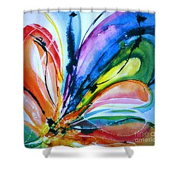 What A Fly Dreams Shower Curtain