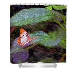 What A Great Place To Live Shower Curtain by James Steele