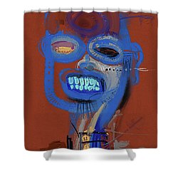 What A Smile Shower Curtain