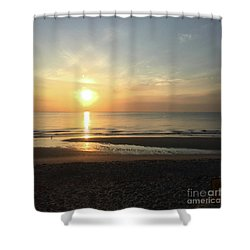 What A View Sunrise Shower Curtain