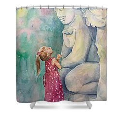 What Are You Thinking? Shower Curtain