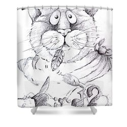 What Bird  Shower Curtain