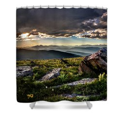 Shower Curtain featuring the photograph What Dreams May Come by Chris Bordeleau