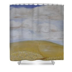 What Is Beyond? Shower Curtain