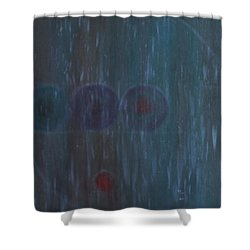 What Is Life? Shower Curtain
