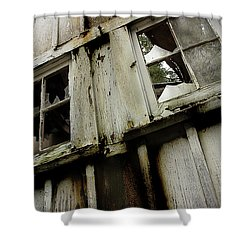 Shower Curtain featuring the photograph What Lies Within by Mike Eingle