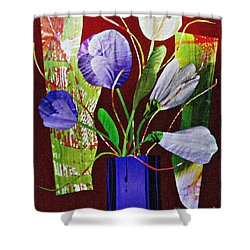 What Marie Left Behind Shower Curtain by Sarah Loft