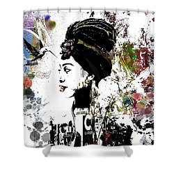 What Matters Shower Curtain by Angela Holmes