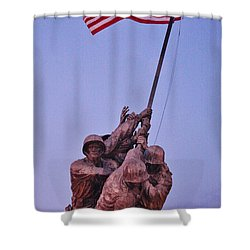 Shower Curtain featuring the photograph What Matters Is Winning... by Vadim Levin
