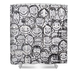 What Matters The Most Shower Curtain