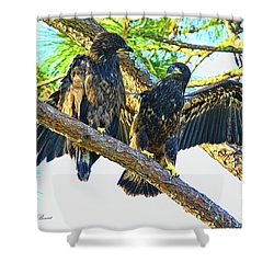 Shower Curtain featuring the photograph What Shall I Say by Deborah Benoit