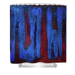 What The...? Shower Curtain