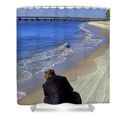 A Different Perspective Shower Curtain by Laura Ragland