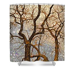 What We See The Mind Believes Shower Curtain