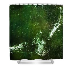 Shower Curtain featuring the photograph Whatever You Do Leave Your Mark by Onyonet  Photo Studios