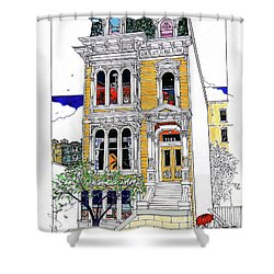 What's In Your Window? Shower Curtain