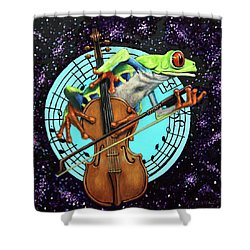 What's It All About Froggy? Shower Curtain