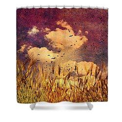 Wheat Field Dream Shower Curtain by Bob Orsillo