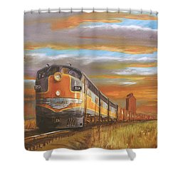 Wheat....from North Dakota Shower Curtain by Christopher Jenkins