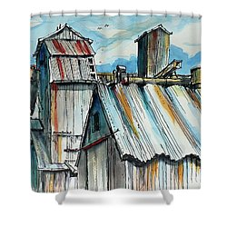 Wheatland High Rise Shower Curtain