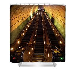 Wheaton Escalator Shower Curtain