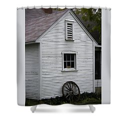Wheel Shower Curtain by Frank J Casella