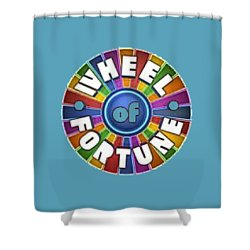 Wheel Of Fortune T-shirt Shower Curtain