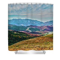 Wheeler Peak Shower Curtain