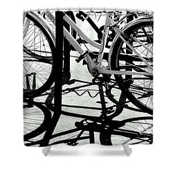 Wheels Shower Curtain
