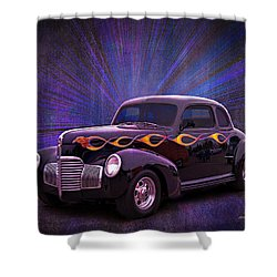 Wheels Of Dreams 2b Shower Curtain