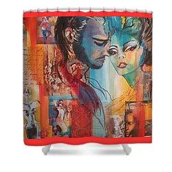 When A Man Loves A Woman  Shower Curtain