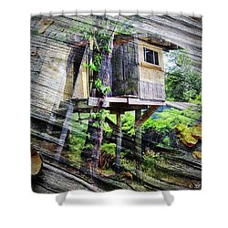Shower Curtain featuring the photograph When Boys Dream by Brian Wallace