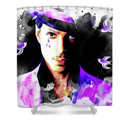 When Doves Cry Shower Curtain