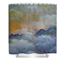 When I Consider Your Heavens Psalm 8 Shower Curtain