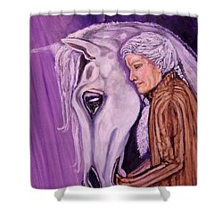 When I'm An Old Horsewoman Shower Curtain